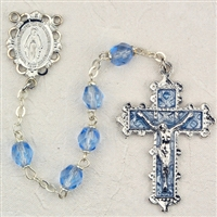 Birthstone rosary-December - Zircon 6MM Rosary