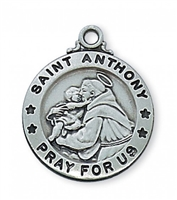 St. Anthony Antique Silver