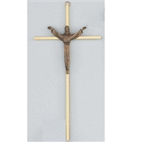 10 BRASS RISEN CRUCIFIX""