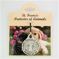 Saint Francis Pet Medal (large)