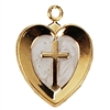 "First Communion Gold Pendant on 16"" Chain"