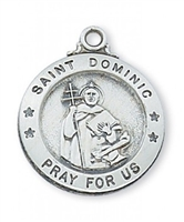 St. Dominic Sterling Silver