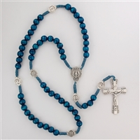 Rosary Corded Miraculous Medal