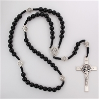 Rosary Corded St. Benedict