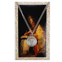 St.  Gregory Patron Saint Medal/Prayer Card