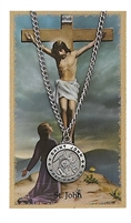 St.  John Patron Saint Medal/Prayer Card