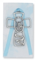 Baptism crib cross