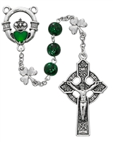 Celtic Claddagh Rosary