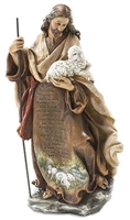 Good Shepherd with Prayer 12.25""