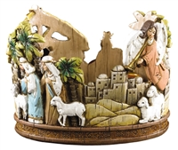 Nativity Advent Candle Holder