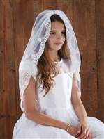 Lace Mantilla first communion