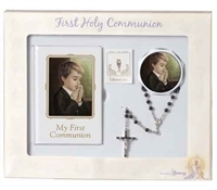 Boys 5 Piece First Communion Set by Roman