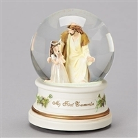 First Communion Girls Glitterdome
