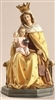 Our Lady of Mount Carmel with Baby Jesus 8""