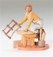 "Fontanini Amos the Carpenter 5"" Scale"