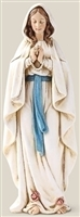 Our Lady of Lourdes 6.25""