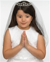 First Communion Veil - Hannah