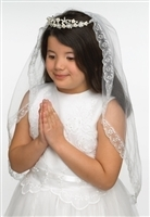 First Communion Veil - Kate