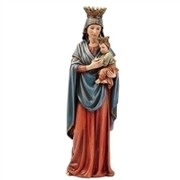 "12.75"" Our Lady of Perpetual Help Statue, full color Resin, part of the Renaissance collection"