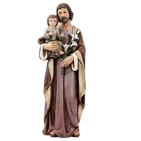 Saint Joseph and Child 25""