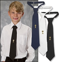First Communion Tie - Black