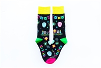 Day of the Dead Adult Socks