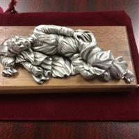 Sleeping St. Joseph Pewter