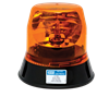 EO-5813A ROTATING BEACON LOW PROFILE 12VDC 160 FPM 3 BOLT MOUNT AMBER