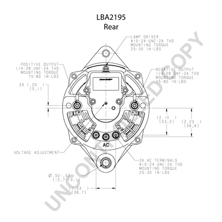 LN 110 923 5 leece neville 110 923 12v 160amp alternator leece neville 160 amp alternator wiring diagram at crackthecode.co