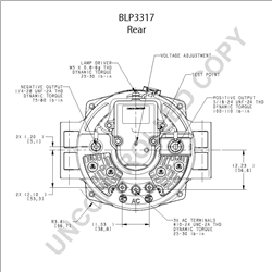 Leece Neville 160 Alternator Wiring Diagram on delco alternator internal wiring diagram