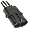 PI-5797C 1 piece Triple Cavity Shroud with Male Terminals