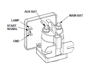 sure power 1314 200 battery separator rh ase supply com 12 Volt Battery Wiring Diagram Dual Battery Wiring Diagram