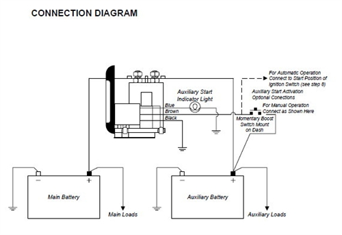 battery isolator wiring diagram with converter sure power 1314 battery separator  sure power 1314 battery separator
