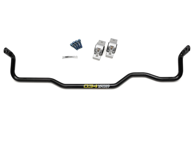 034Motorsports Adjustable Solid Rear Sway Bar - 22.2mm