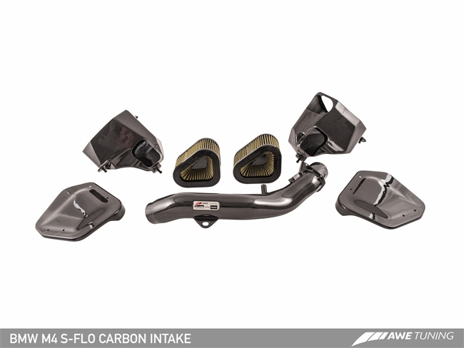 AWE S-FLO Carbon Intake for BMW F8X M3 / M4