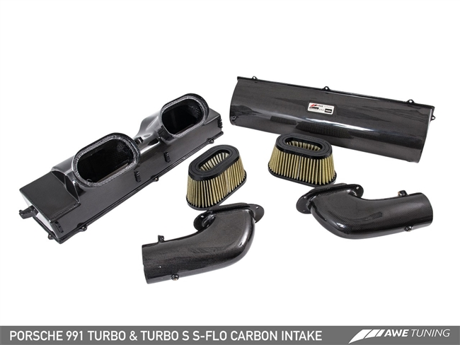 The AWE Tuning S-FLO Carbon Intake