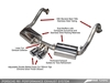AWE Performance Exhaust System for Porsche 981