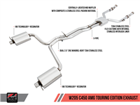 AWE Touring Edition Exhaust for Mercedes-Benz W205 AMG C43