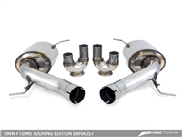 AWE Touring Edition Axle Back Exhaust for BMW F10 M5