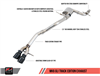 AWE Track Edition Exhaust for MK6 GLI 2.0T - MK6 Jetta 1.8T