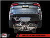 AWE Track Edition Exhaust for MK6 Jetta 1.4T