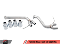 AWE Track Edition Exhaust System for Porsche Macan S / GTS / Turbo