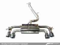 AWE SwitchPath Exhaust for MK7 Golf R