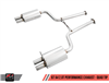 AWE Tuning B7 A4 2.0T Quattro Dual Exit/Dual Tip Performance Exhaust - No Downpipe - For Tiptronic Cars
