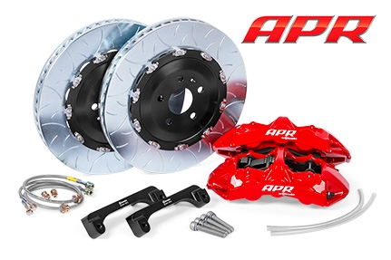 APR By Brembo GT Front Big Brake Kit - 2 Piece Type 3 Slotted Rotors (350x34)