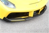 Novitec 488 Front Spoiler in Visible Carbon