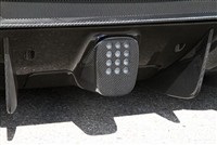 Novitec Carbon Rear Fog Light Cover w/o Rearview Camera