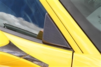 Novitec Carbon Fiber Side Window Triangle Cover