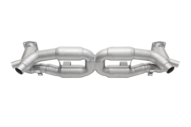 Soul Performance Porsche 991 Turbo Competition X-Pipe Exhaust System