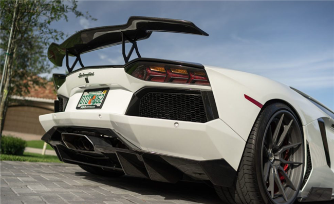 1016 Industries Aventador Rear Diffuser